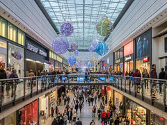 Manchester Arndale Christmas Decorations