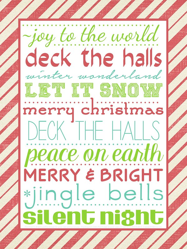 Christmas Printable 2014 - free and perfect for the season!