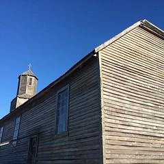 La soberbia iglesia de Detif. Isla de Lemuy, Chiloé, Chile.