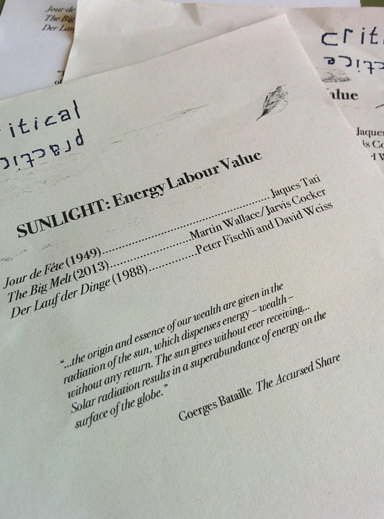 Sunlight programme