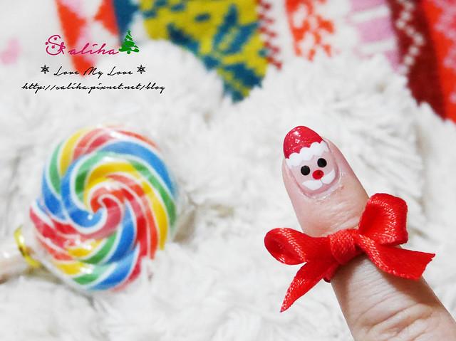 中山站聖誕節美甲光療指甲 (16)