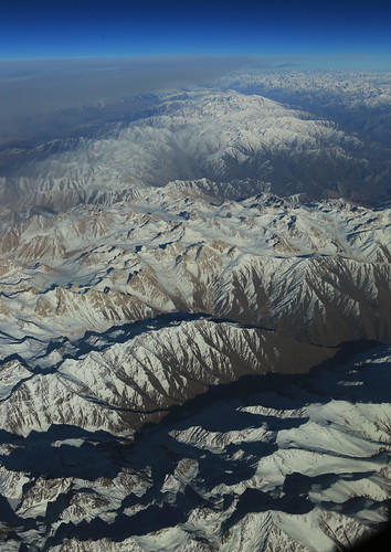 afghanistan mountains plane landscape aerial windowseat hindukush