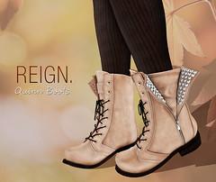 REIGN. - Quinn Boots