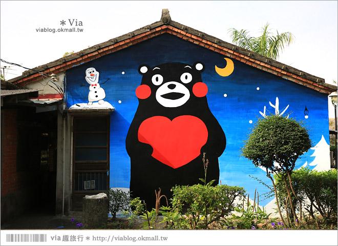 【嘉義龍貓村】南崙彩繪村~全台第一座以龍貓為主題的彩繪村!29