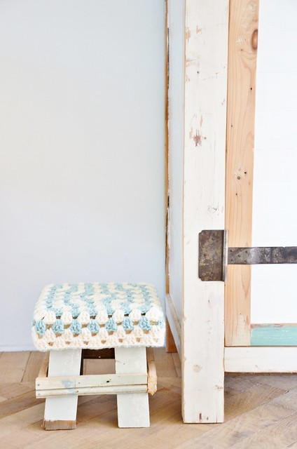 wood & wool xs stool maantje piet