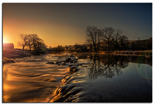 water sunrise river yorkshire ngc linton weir grassington riverwharfe d600 nikkor1635mmf4 nikonfxshowcase
