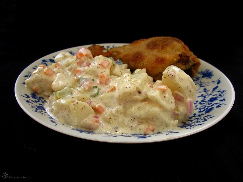 Majonezovy/zemiakovy salat