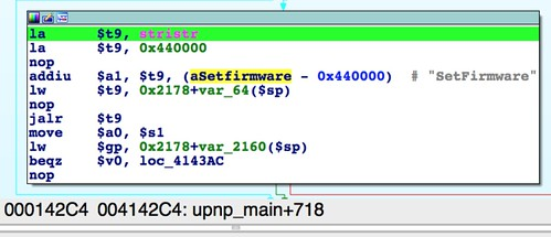 SetFirmware reference in upnpd