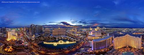 longexposure panorama lasvegas dusk 360 bellagio hdr exposureblending supershot