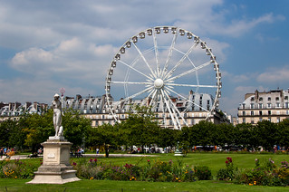 La Grande Roue de Paris au Jardin des Tuileries