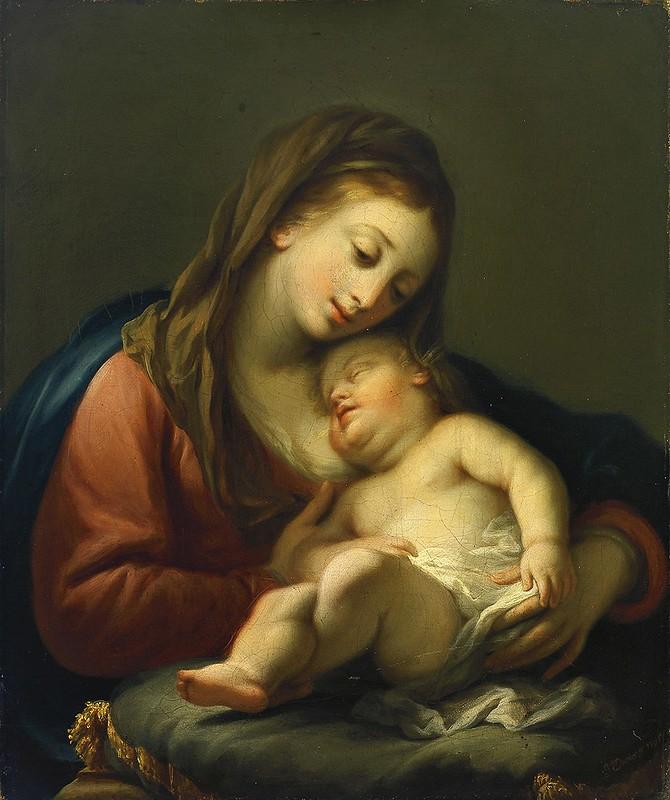 Johann Jakob Dorner - Madonna mit Kind (1795)