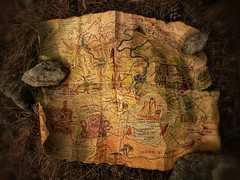 The Mysterious Wizard's Map of the Legendary Lost Treasures of Eydelstarr