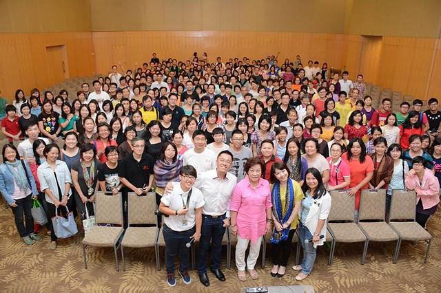 吉隆坡孝恩馆的演讲