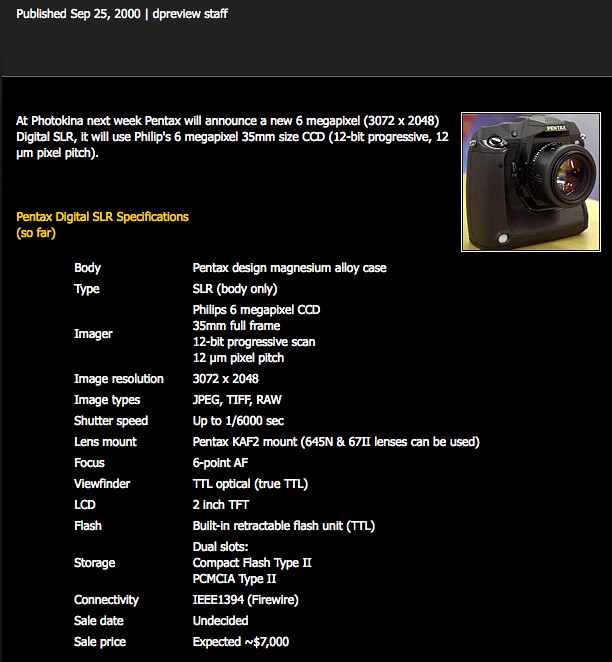 Ricoh announces it will launch Pentax DSLR in spring and lenses