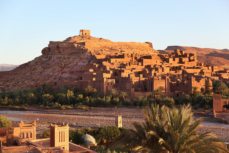Ksar Aït Benhaddou in dawn light