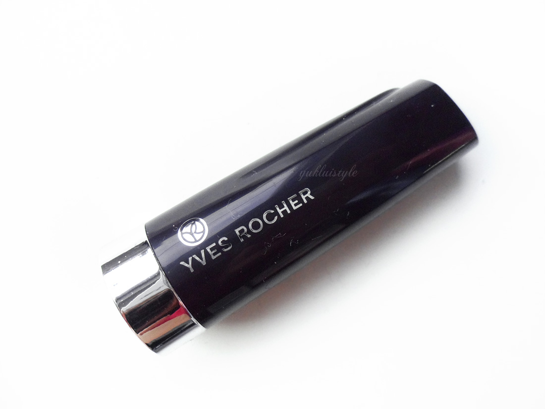 Yves Rocher Moisturising Cream Lipstick in Orange Muscade review