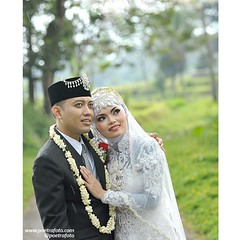 """""""My Love. Rainy days makes me think, about you a lot.""""    Juhasmira & Legowo wedding day in Muntilan Jawa Tengah Indonesia. Wedding photo by @Poetrafoto.   Visit our web http://wedding.poetrafoto.com and our FB page http://fb.com/poetrafoto for more weddi"""