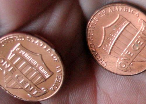 362/365 Twin Pennies