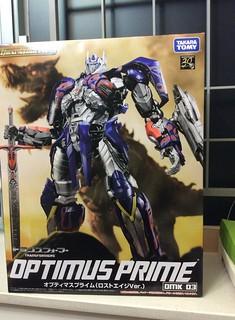【玩具人'sumsum'投稿】模型分享投稿: Age of extinction-Optimus Prime(Takara Tomy Dual model kit series)