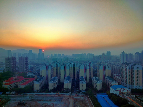 china city sunset landscape mobilecamera zhuhai hdr vivo mobilephoto zhuhaicity vivoxshot