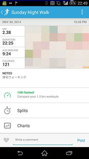 20141130_RunKeeper(Walking)