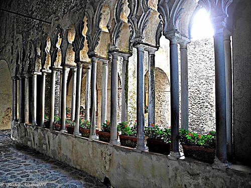Ravello, Villa Rufolo, Il Chiostro