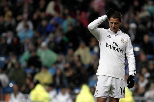 A Javier Chicharito Hernández el club lo aprecia por ser un luchador, característica del propio Real Madrid, dijo Butragueño Foto Notimex
