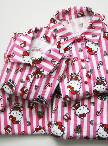 Hello Kitty Pajamas_2 pairs