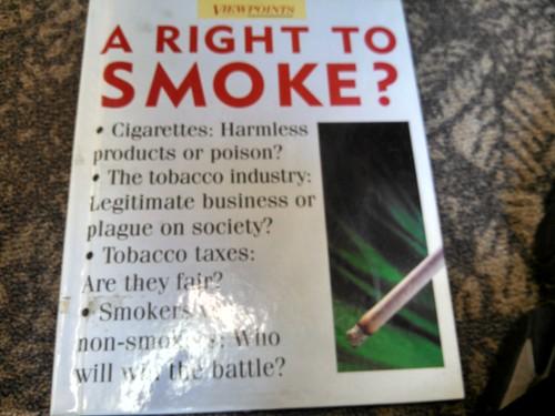 A right to smoke?