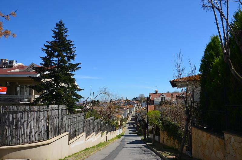 Blick zurück zum Hafen von Büyükada