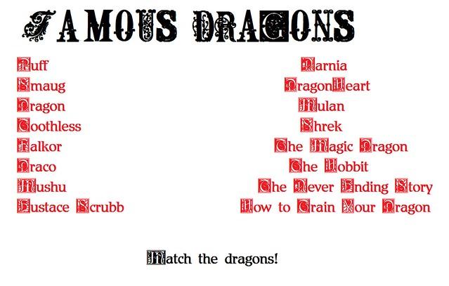 FamousDragons
