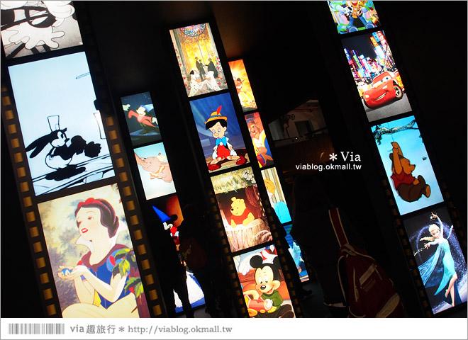 【迪士尼90週年特展】2014台北松山迪士尼特展~跟著迪士尼回顧走過90年的精彩畫面!8