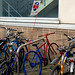 Small photo of Advertiser Steals a Cycle Rack