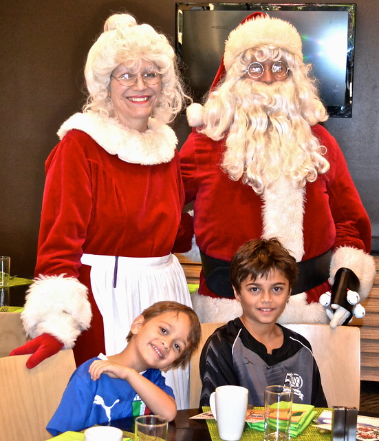 PGA National Resort and Spa - breakfast with santa and mrs. claus