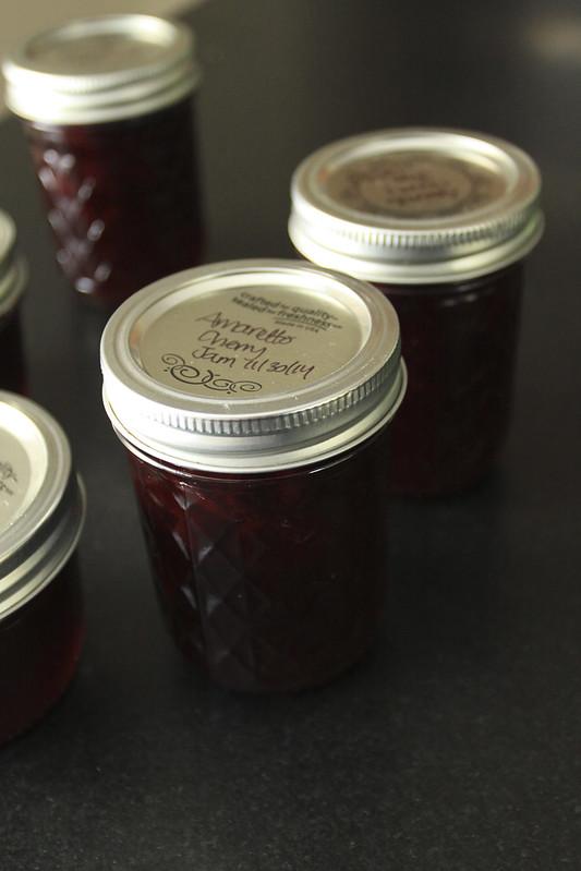 Amaretto Cherry Jam