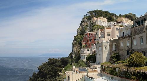 Capri - Veduta dalla Piazzetta 2