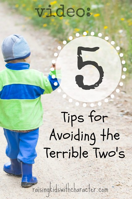 [Video] Five Tips for Avoiding The Terrible Twos