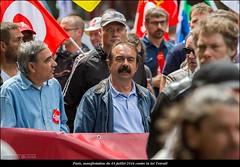 Paris, manifestation du 05 juillet 2016 contre la loi travail