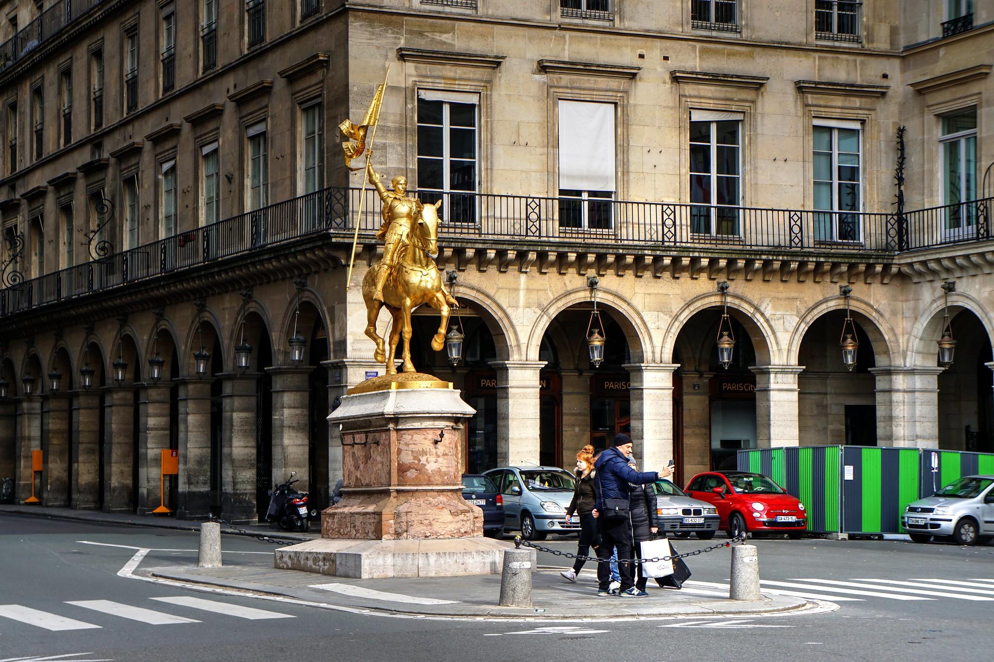 Paris -Jeanne D'Arc