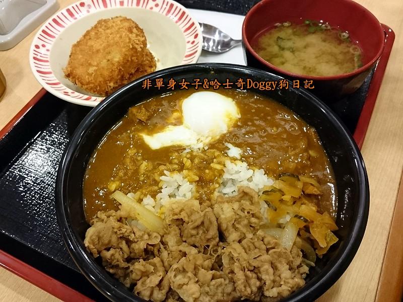 Sukiya日本牛丼咖哩飯23