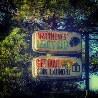 matthews' beauty shop