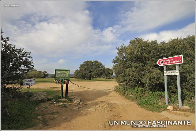 Entrada a la senda del Castillo