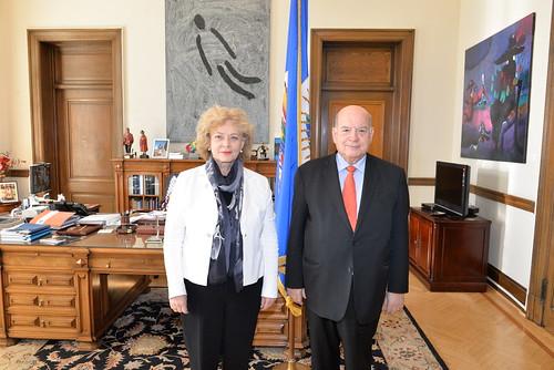 OAS Secretary General Met with Secretary General of the Community of Democracies