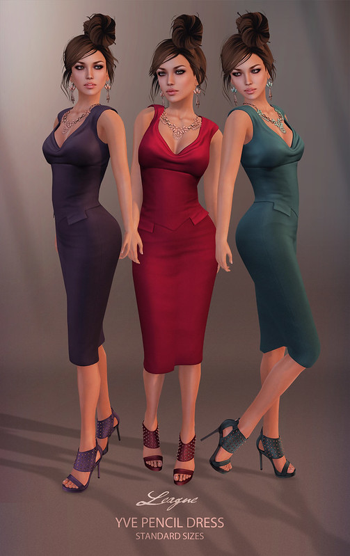 League Yve Pencil Dress