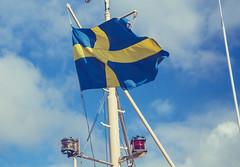 Skeppsholmen Swedish Flag