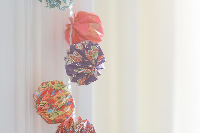 DIY Origami Mini Lanterns