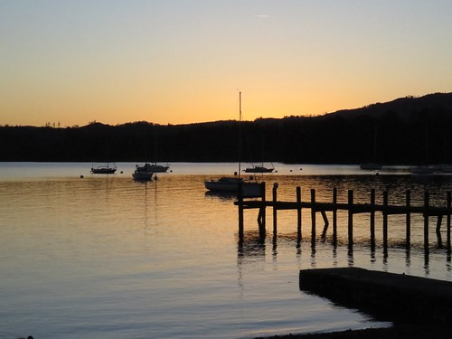 616 Lake Windermere sunset
