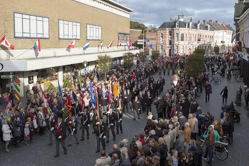 Defile zeventige jarige herdenking Slag om de Schelde