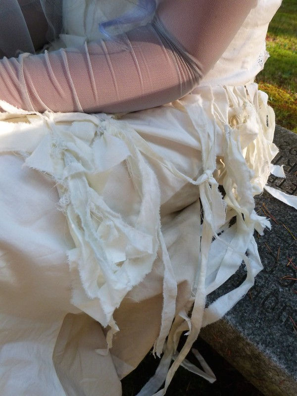 Dead Bride Costume, Close-Up