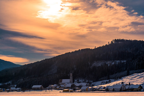 sun mountain church austria landscapes österreich murtal